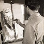 Tyree painting portrait