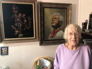 Visiting Cece Rodriguez age 100 last of the original Tiki artist