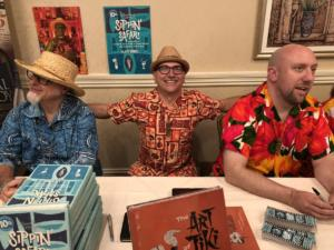 TikiOasis Book Signing August with Tiki legends Jeff berry and Otto von Stroheim