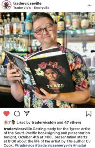 Trader Vic's Oakland Tyree talk and Book signing Oct. 2019